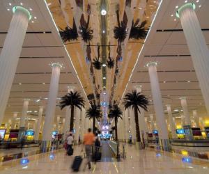 迪拜机场客流量达5700万 中国客增长迅猛