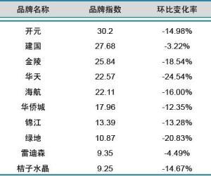2013年11月中国酒店业国内品牌发展报告
