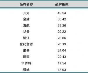 2014年1月中国酒店业国内品牌发展报告