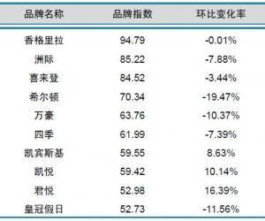 2014年4月中国酒店业国际品牌发展报告